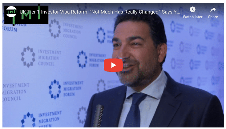 """UK Tier 1 Investor Visa Reform: """"Not Much Has Really Changed,"""" Says Yazdi"""